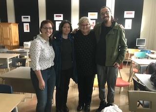 Visite de l'auteure Élizabeth Turgeon au Centre de formation de l'Envol à Joliette