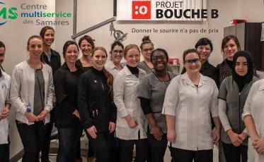 Une première clinique dentaire sociale au Centre de formation de l'Argile!