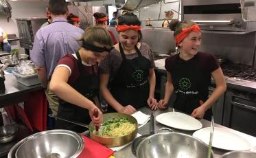 Coup d'envoi des compétitions inter-école des Brigades culinaires à l'École hôtelière de Lanaudière!