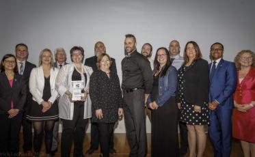 Prix d'excellence du réseau de la santé et des services sociaux 2019 pour le projet  « Mobilisation Projection À'venir » !